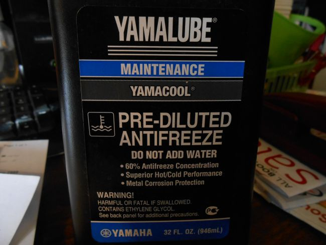 Yamalube antifreeze | Shop | Wheeling Cycle Supply