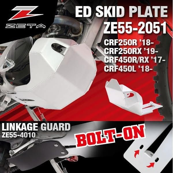 Zeta CRF Skidplate