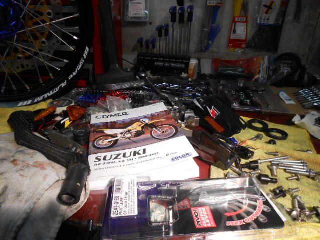 clymer manual for suzuki drz400s sm e now available news u003e clymer rh wheelingcyclesupply com 2012 Suzuki DRZ 400 Suzuki 400 Supermoto