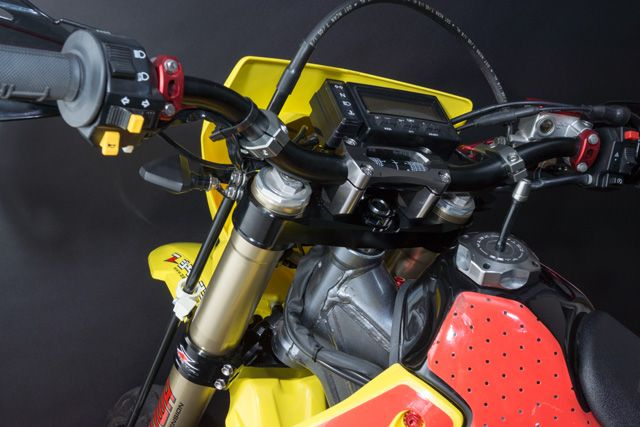 NEW ! Zeta Triple Clamp Set for the DRZ400SM ! In Stock Now